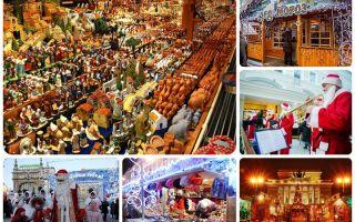 Новогодние и рождественские ярмарки в спб 2019-2019