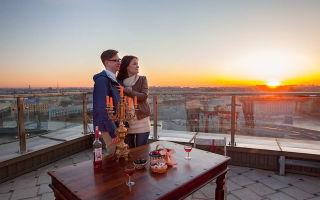 Как устроить свидание на крыше санкт-петербурга