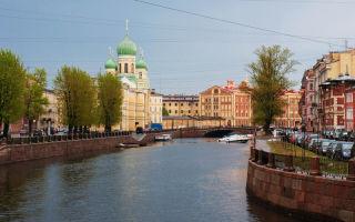 Коломна: прогулка по романтическому району санкт-петербурга