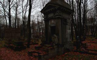 Исторические кладбища санкт-петербурга: путеводитель