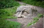 Каменная голова в петергофе: экскурсия в парк сергиевка