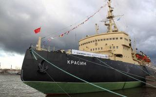 Корабль-музей: ледокол «красин» в санкт-петербурге