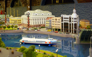 Гранд макет россии в санкт-петербурге и мини-город
