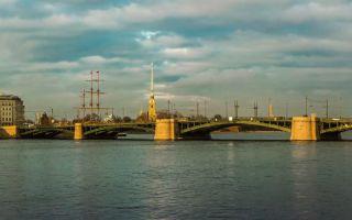 Биржевой мост в санкт-петербурге: история, фото, адрес