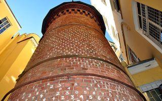 Аптека пеля и башня грифонов на васильевском в санкт-петербурге