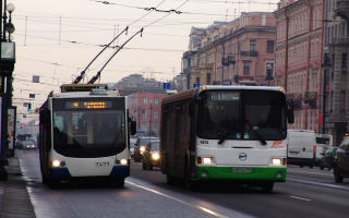 Автобусы и трамваи: общественный транспорт санкт-петербурга