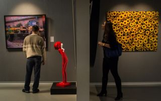 Выставка лю болин: художник-невидимка в эрарте