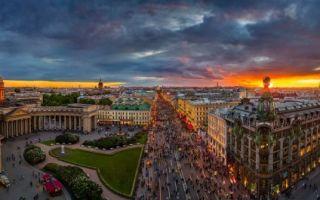 Панорамы санкт-петербурга: лучшие площадки для красочных фото