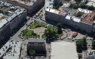 Манежная площадь в санкт-петербурге: архитектурный ансамбль
