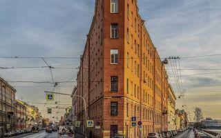 Необычные дома санкт-петербурга: дом-утюг, дом-стена