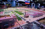 Музей-макет петровская акватория – старинный петербург в миниатюре