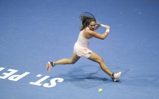 Турнир по теннису st. ptersburg ladies trophy 2019