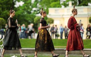 Модное событие: проект ассоциации в царском селе 2019
