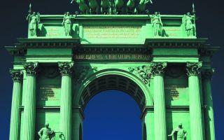 Музей-памятник нарвские триумфальные ворота в санкт-петербурге