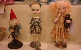 Галерея кукол варвары скрипкиной в санкт-петербурге