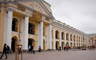 Гостиный двор в санкт-петербурге: адрес, история, фото