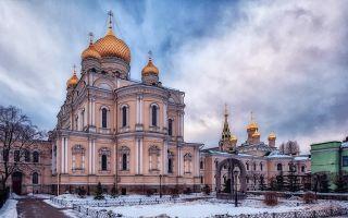 Воскресенский новодевичий монастырь в санкт-петербурге
