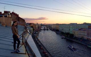 Прогулки по петербургу: по крышам, каналам и улицам