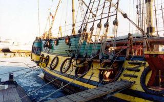 Музей на воде: фрегат штандарт в санкт-петербурге