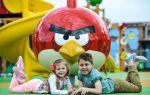 Развлечения для детей на выходные, парк angry birds