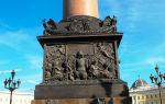 Александровская колонна в санкт-петербурге: памятник александру 1