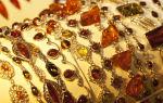 Где купить янтарь в санкт-петербурге: украшения и другие изделия
