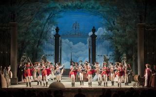 Опера «пиковая дама» в михайловском театре