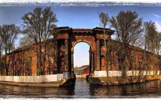 Остров парк новая голландия в санкт-петербурге
