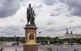 Петербургские памятники полководцам: история города в бронзе