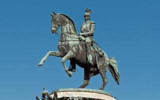 История санкт-петербурга в бронзе: памятники царям