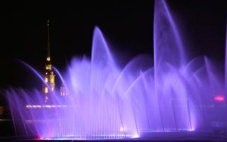Фонтаны санкт-петербурга: исторические, поющие и с иллюминацией