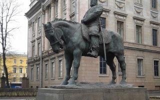 Памятник александру iii в санкт-петербурге: история и фото