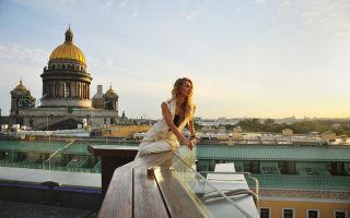 Как организовать фотосессию на крыше в санкт-петербурге