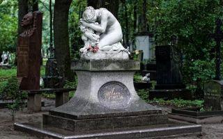 Литераторские мостки волковского кладбища: кто похоронен
