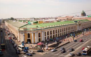 Большой гостиный двор спб – знаменитый магазин петербурга