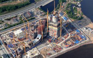 Лахта-центр в санкт-петербурге: ход строительства