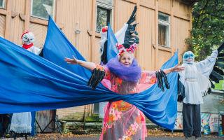 Фестиваль уличных искусств «улитка» 2019 в ботаническом саду спб
