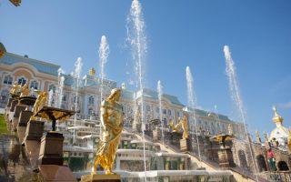 Дворцово-парковый ансамбль петергоф: фото, открытие фонтанов в 2019