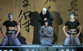 Опера мадам баттерфляй на новой сцене мариинского театра