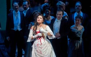 Опера «лючия ди ламмермур» в мариинском театре